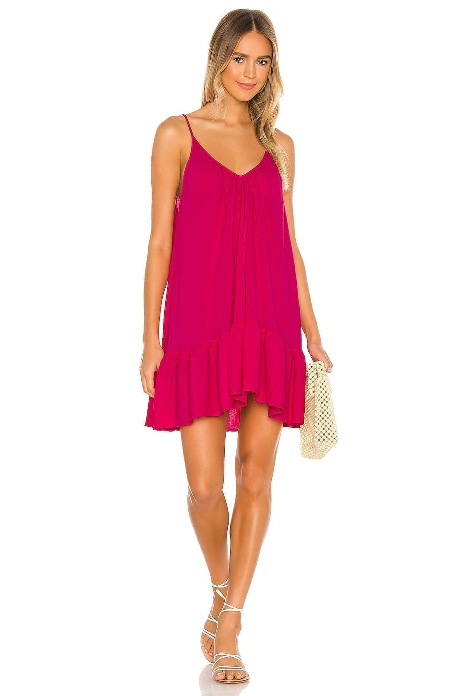 9 SEED St Tropez Ruffle Mini Dress