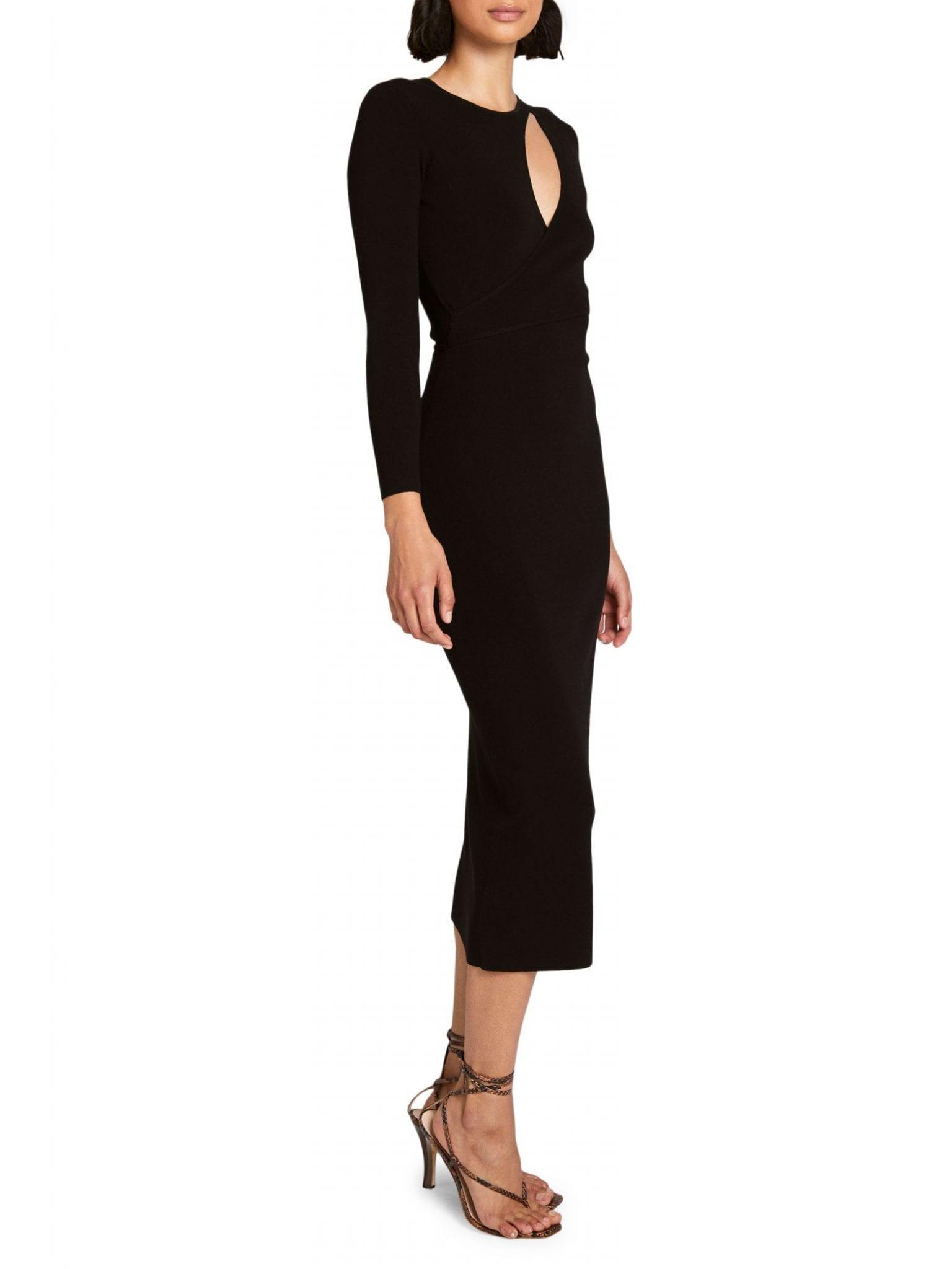 A.L.C. Lorelei Cutout Midi Dress