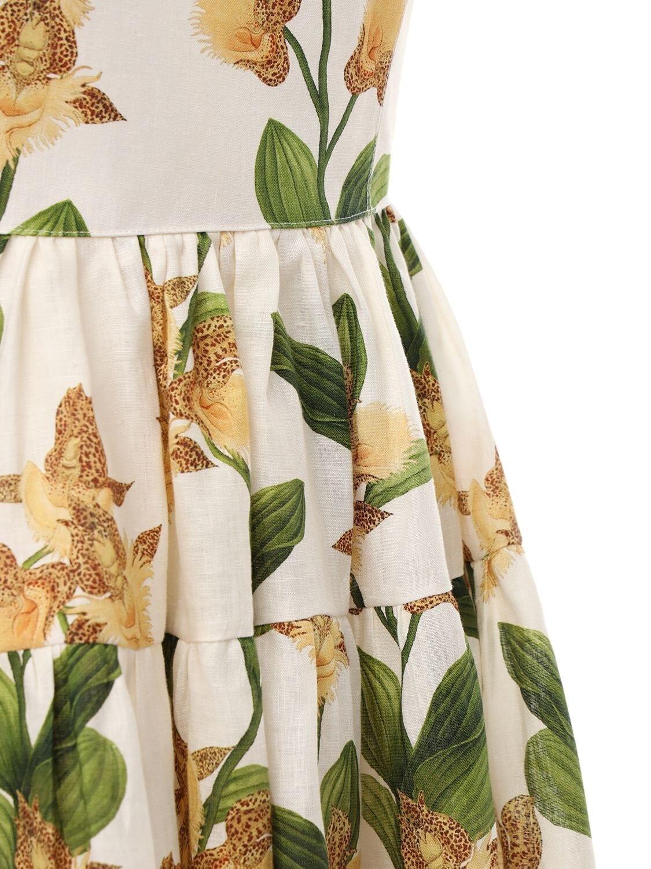 AGUA BY AGUA BENDITA Lima Embroidered Mini Dress