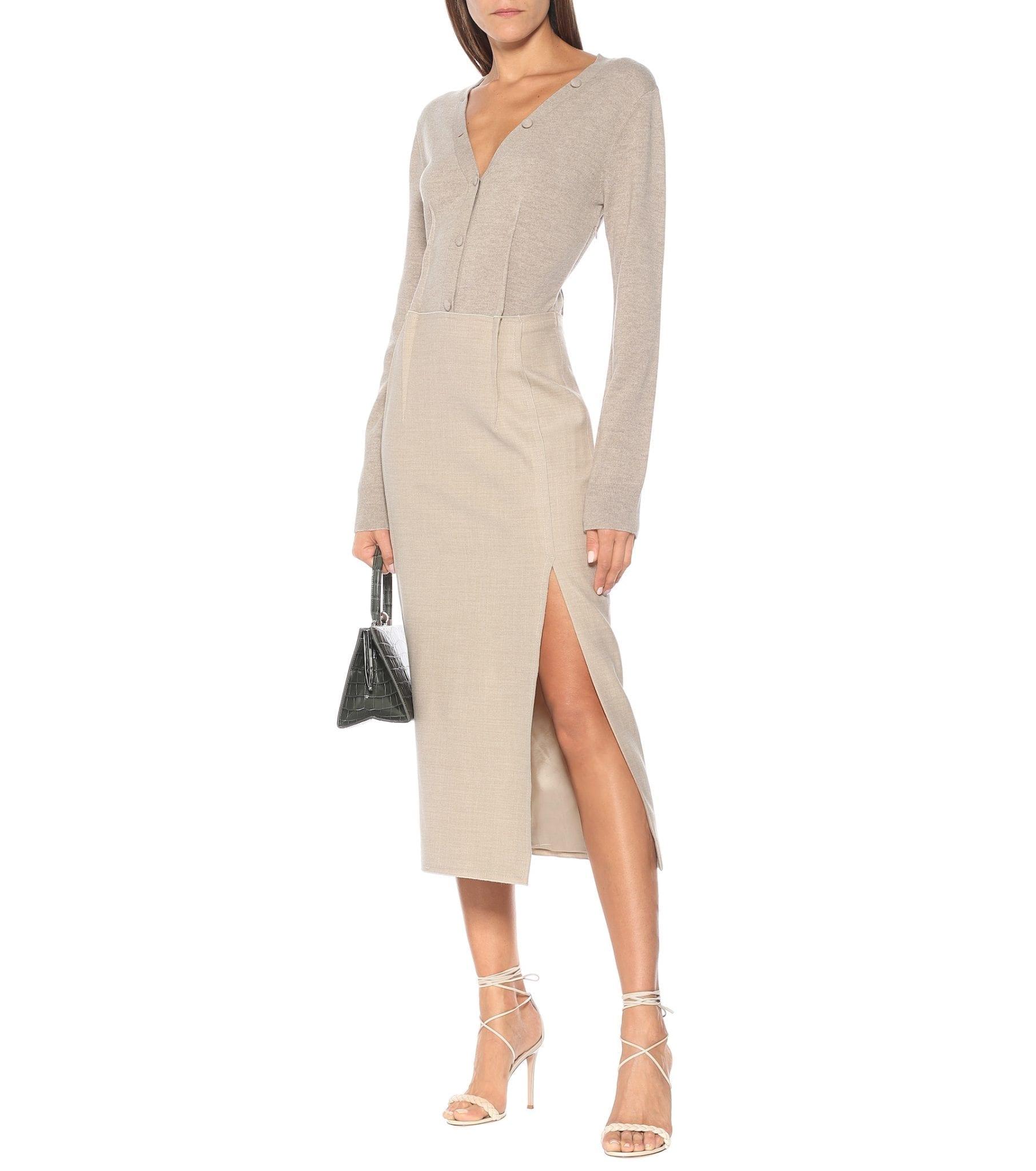 ALTUZARRA Arlene Wool Midi Dress