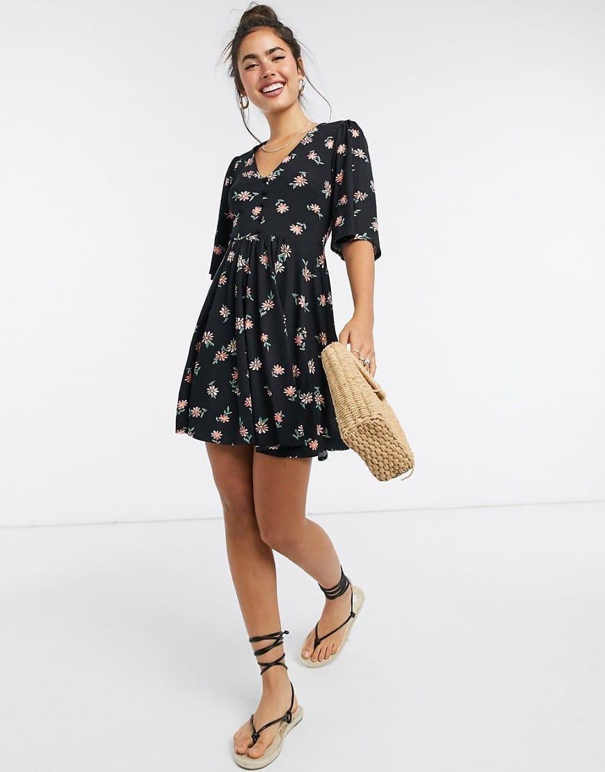 ASOS DESIGN Mini Swing Dress