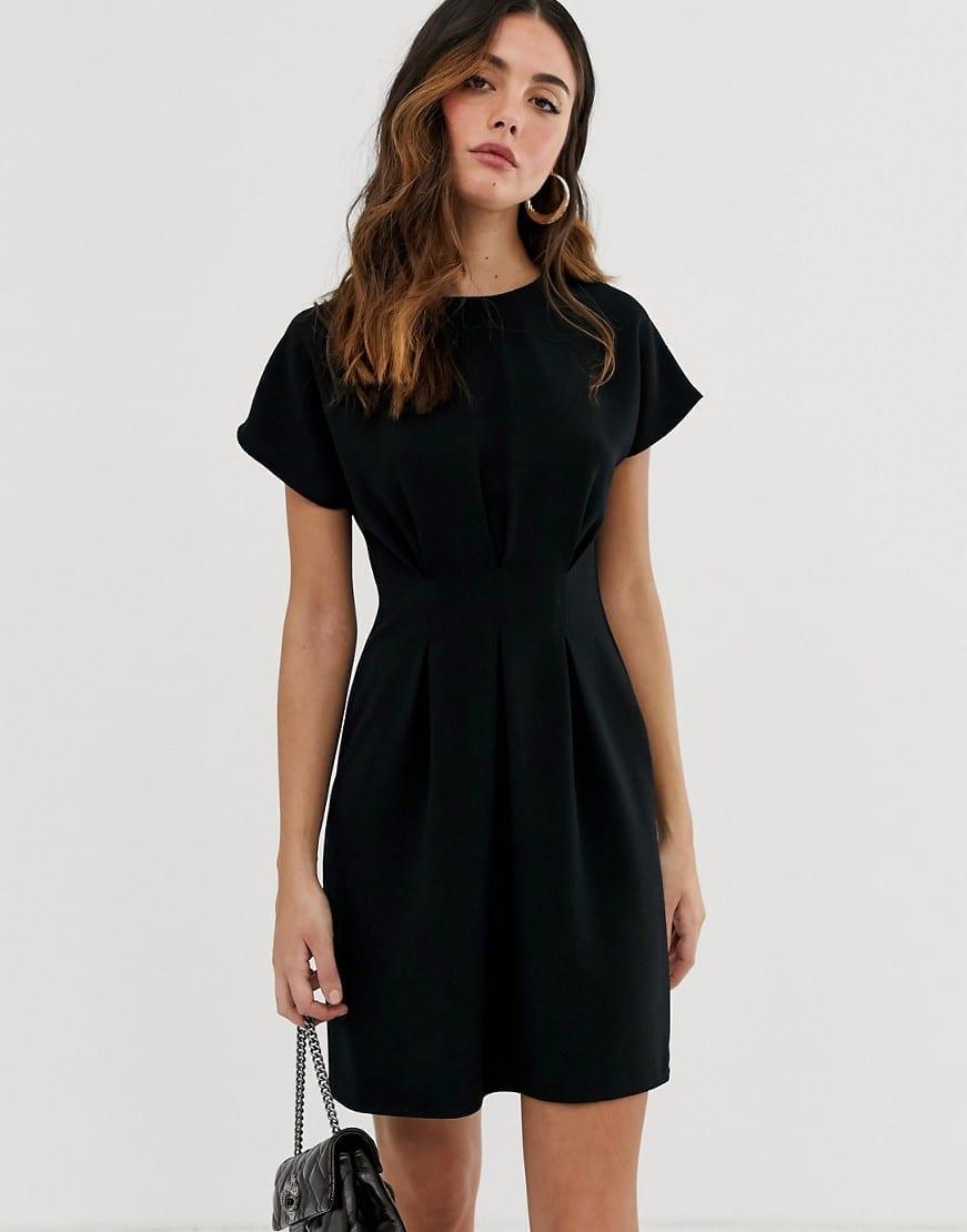 ASOS DESIGN Nipped In Waist Mini Dress