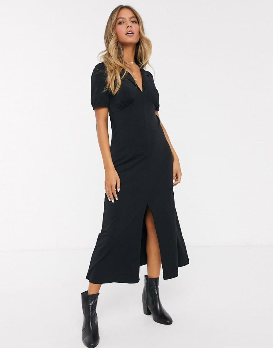 ASOS DESIGN Ultimate Midi Tea Dress