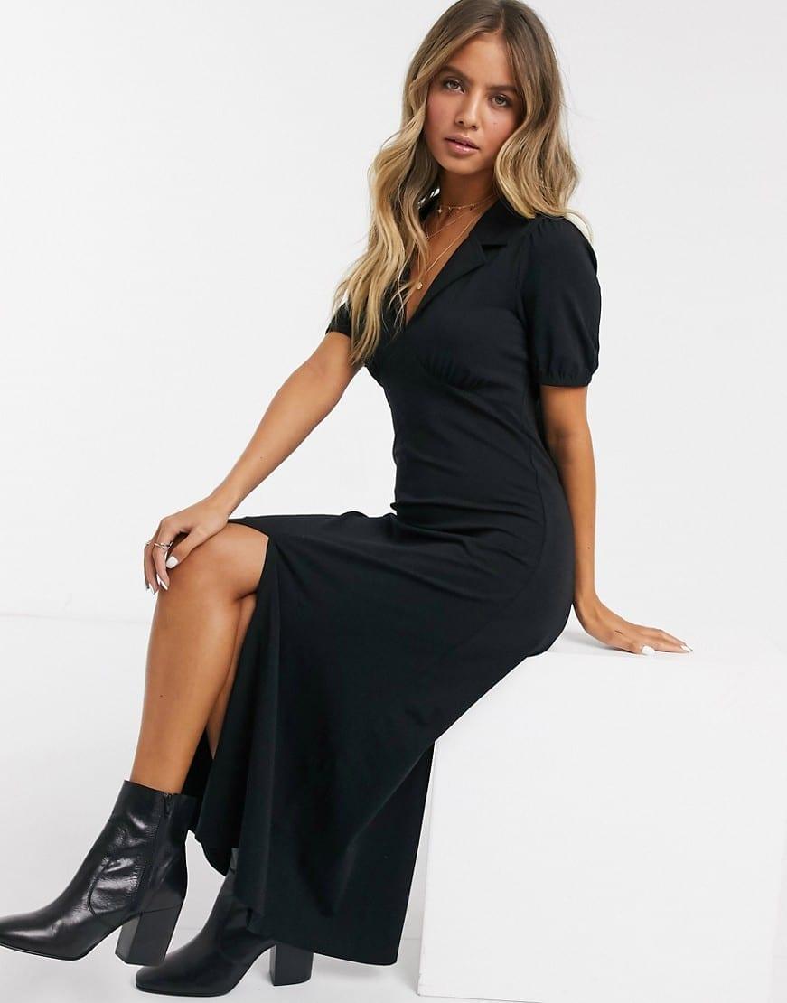 ASOS DESIGN Ultimate Midi Tea Dress