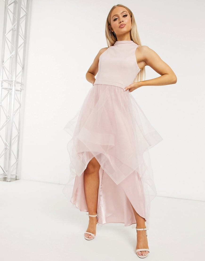 CHI CHI LONDON Hi Lo Dress