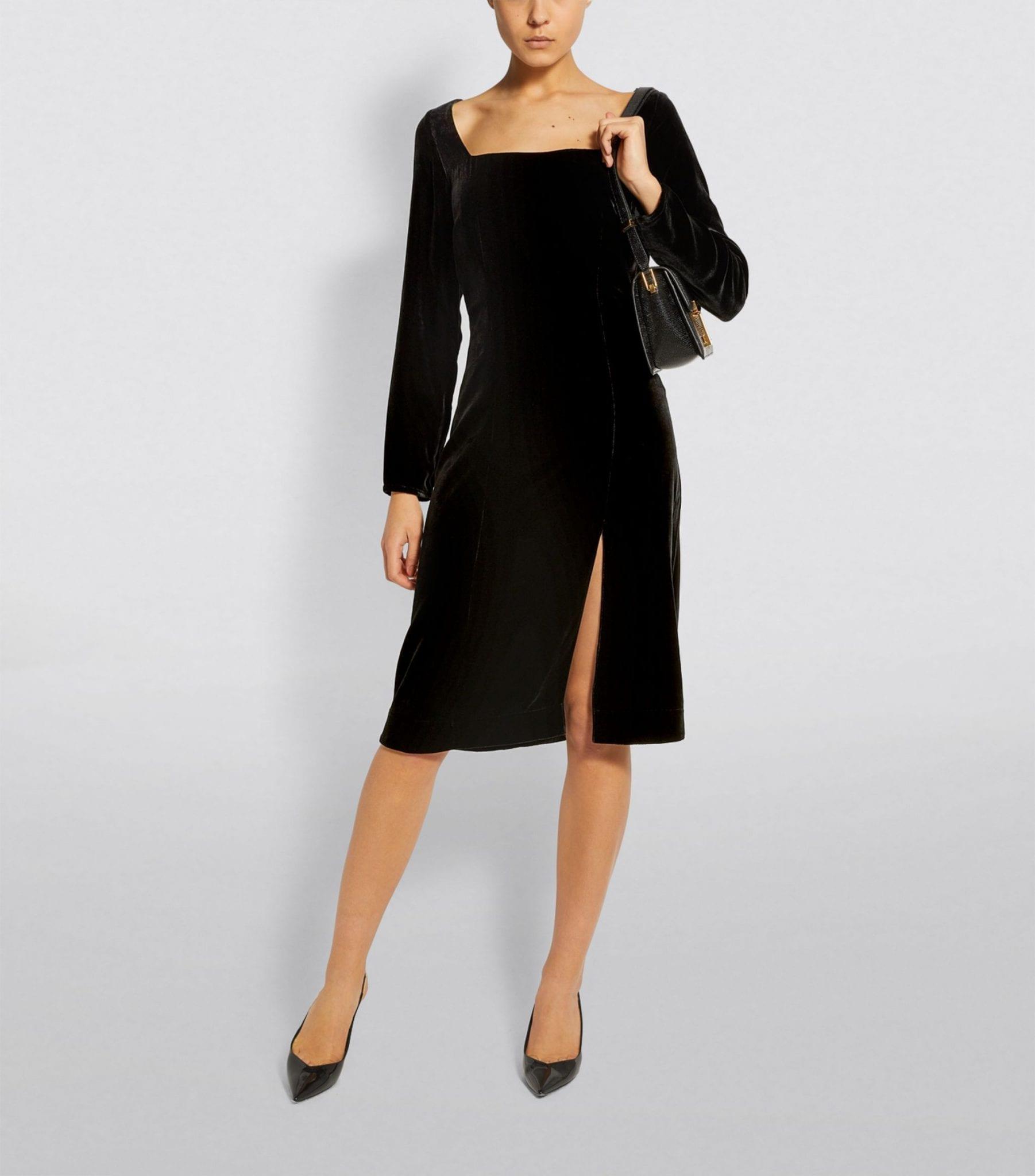 DEITAS Velvet Nyx Mini Dress