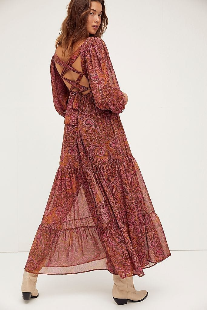 FREE PEOPLE Folklore Maxi Dress