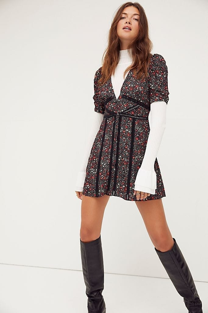FREE PEOPLE Piece Of Your Heart Mini Dress
