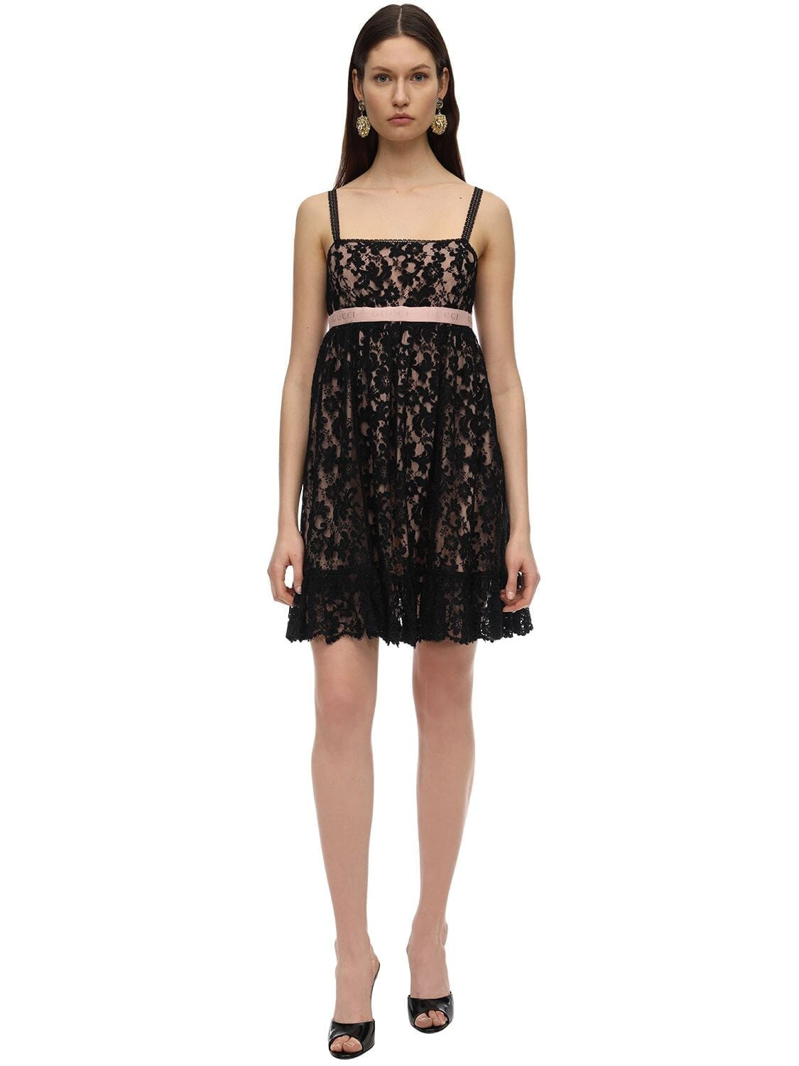 GUCCI Lace Mini Dress