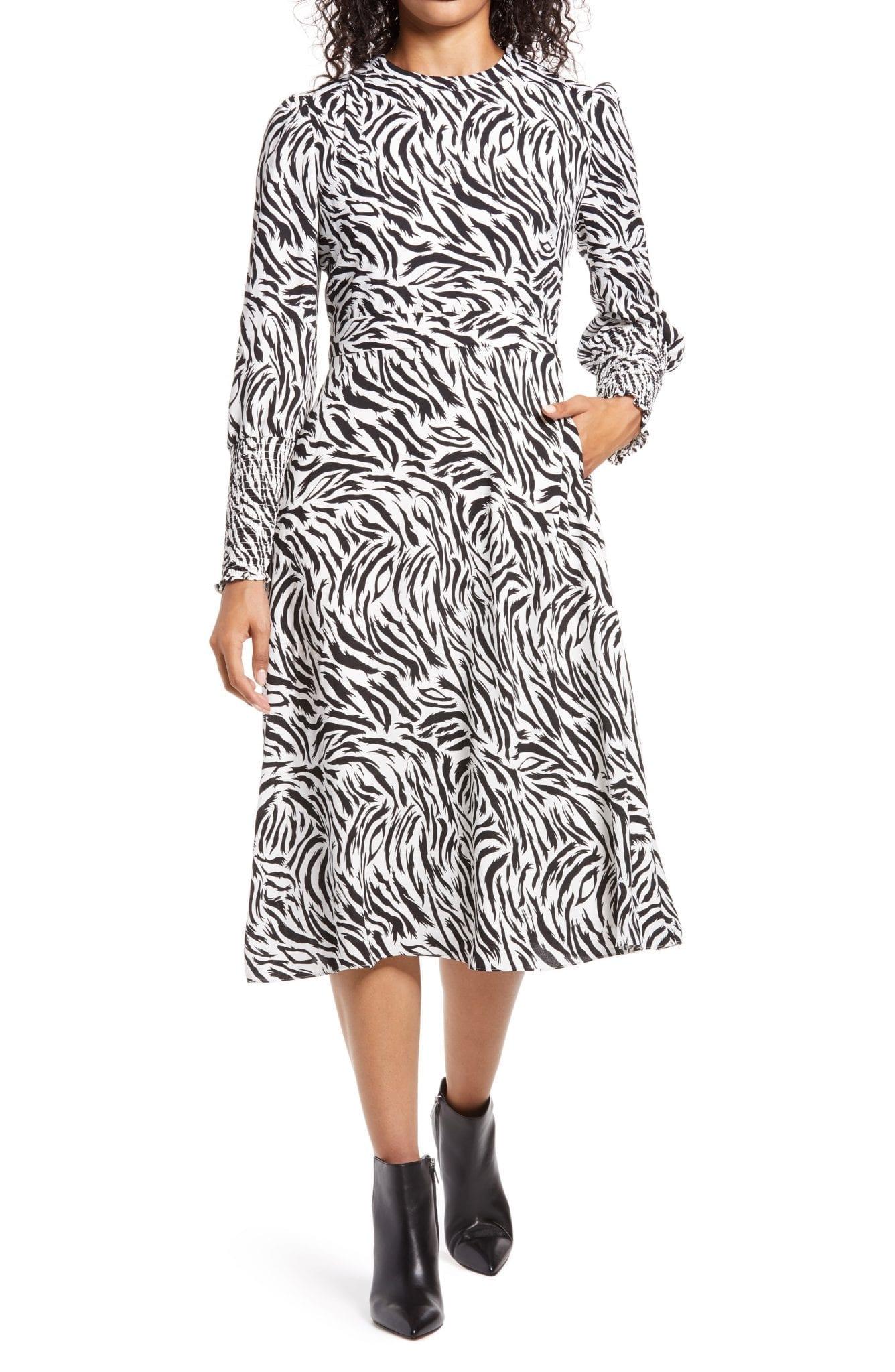 Halogen Tie Back Long Sleeve Dress We Select Dresses
