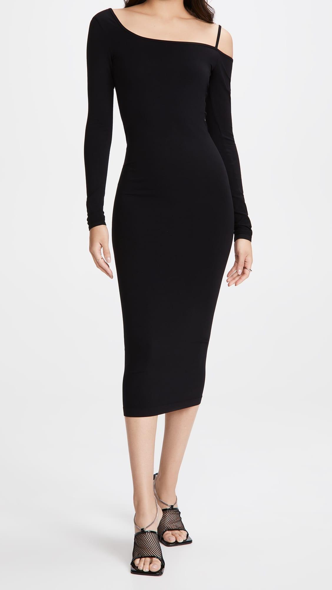 HELMUT LANG One Shoulder Dress