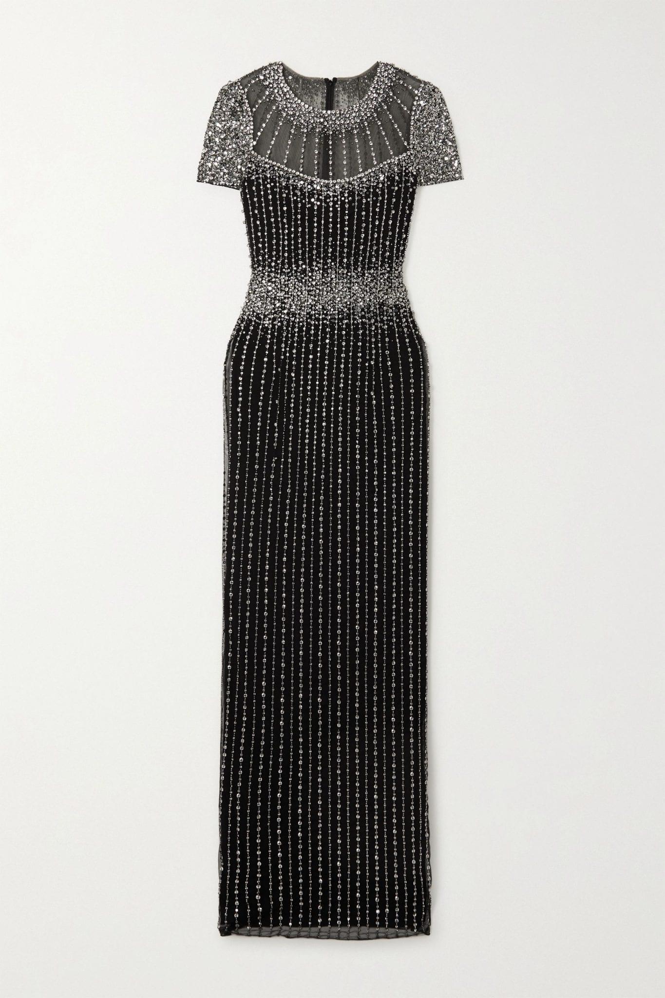 JENNY PACKHAM Delilah Embellished Tulle Gown