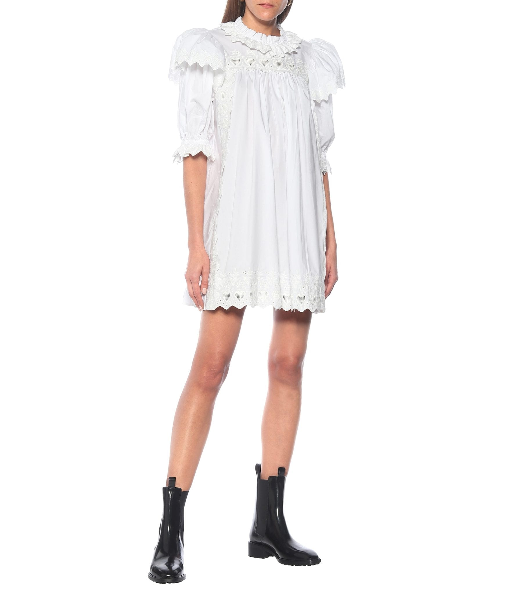 MARC JACOBS Embroidered Mini Dress