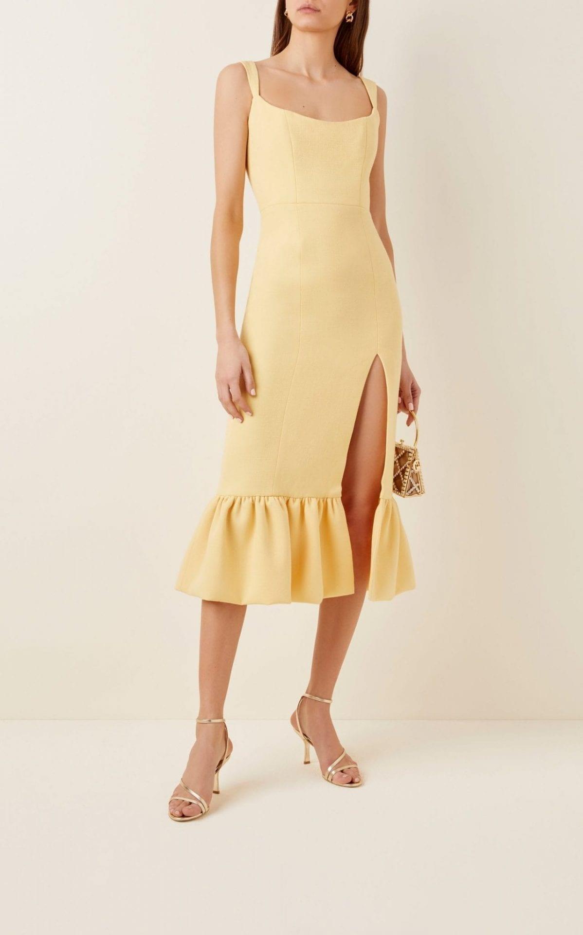 MARKARIAN Pallas Wool Midi Dress