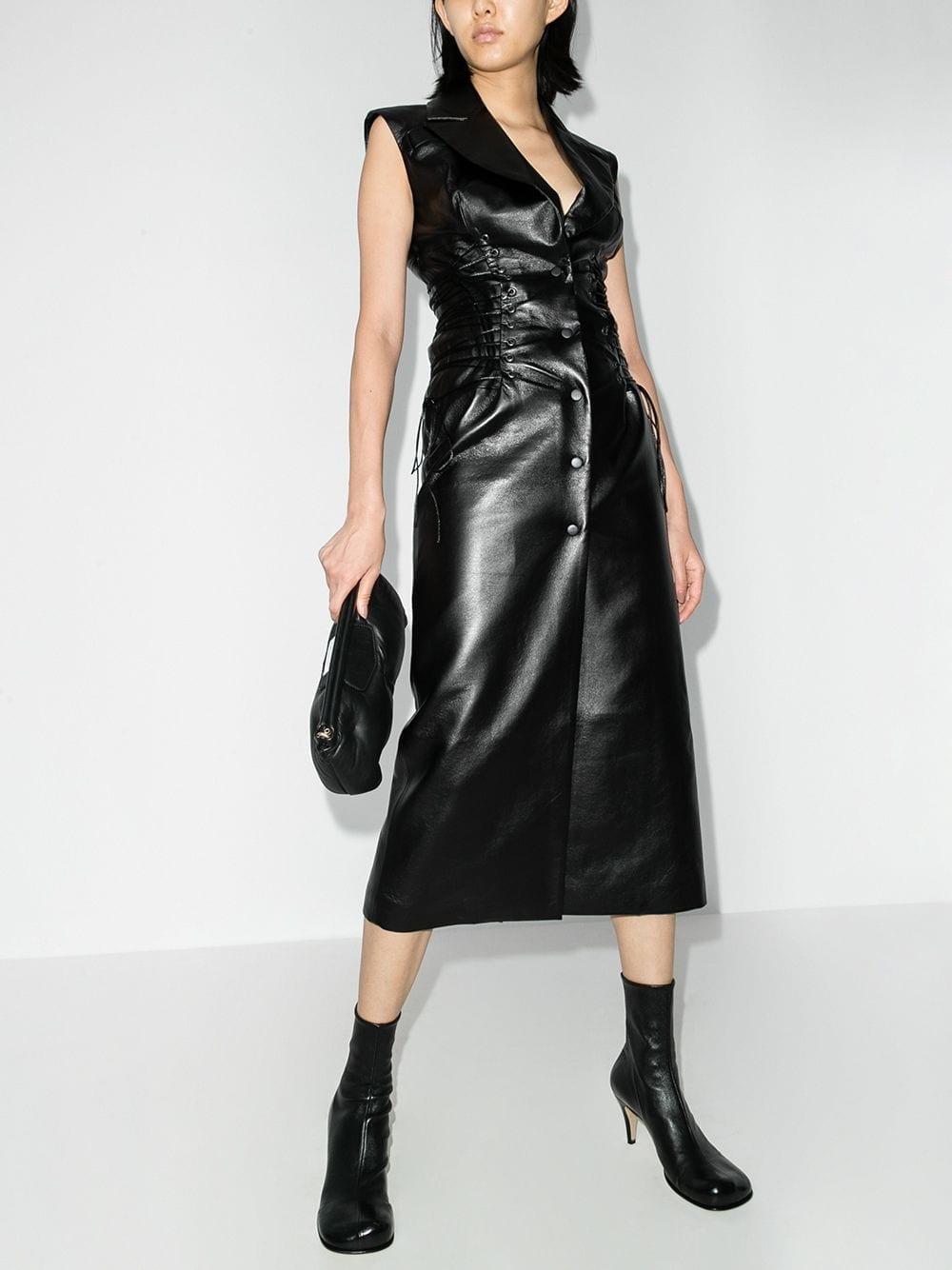 MATERIEL Bodice Vest Dress