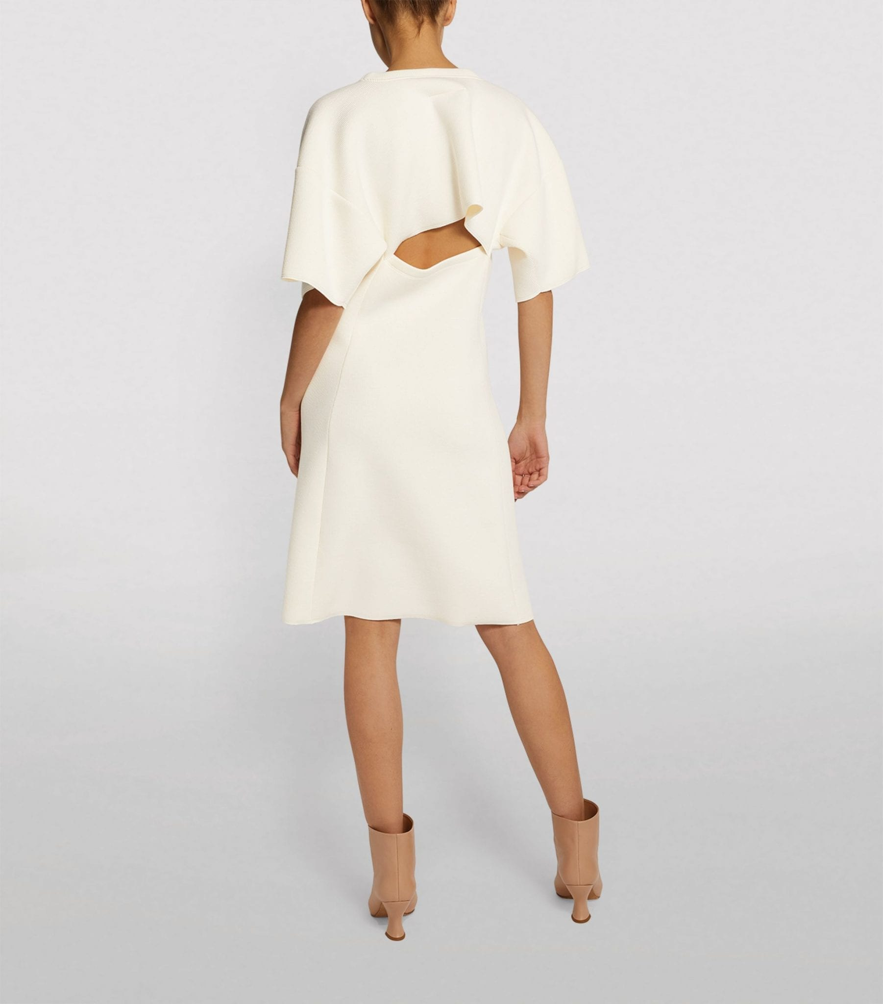 MM6 MAISON MARGIELA Back Cut-Out Jersey Dress