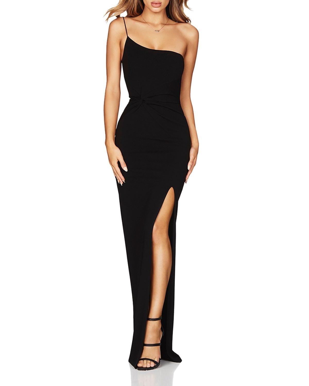 NOOKIE Lust One-Shoulder Gown