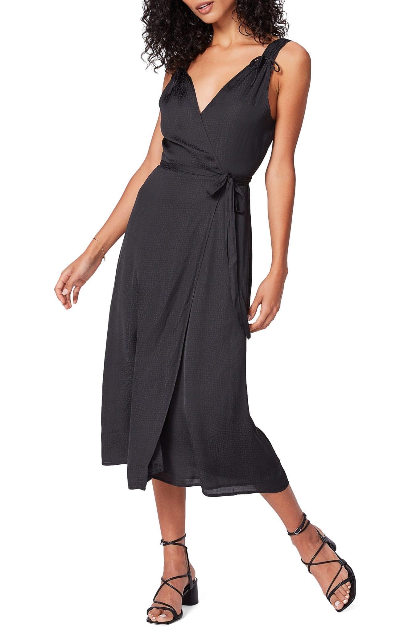 PAIGE Cersia V-Neck Wrap Dress
