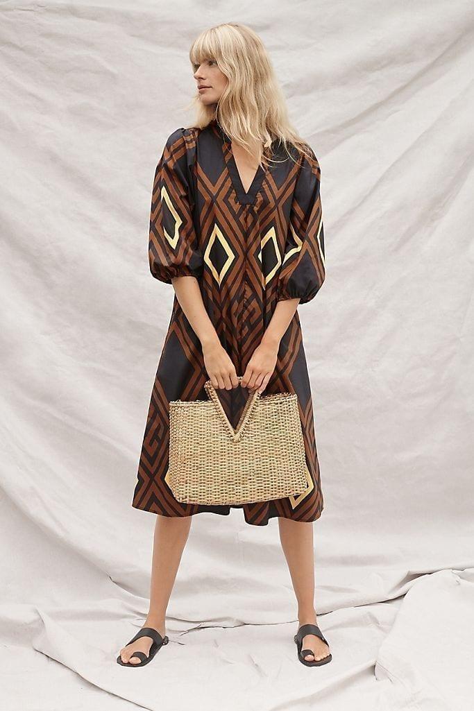 PORRIDGE Mireil Midi Dress