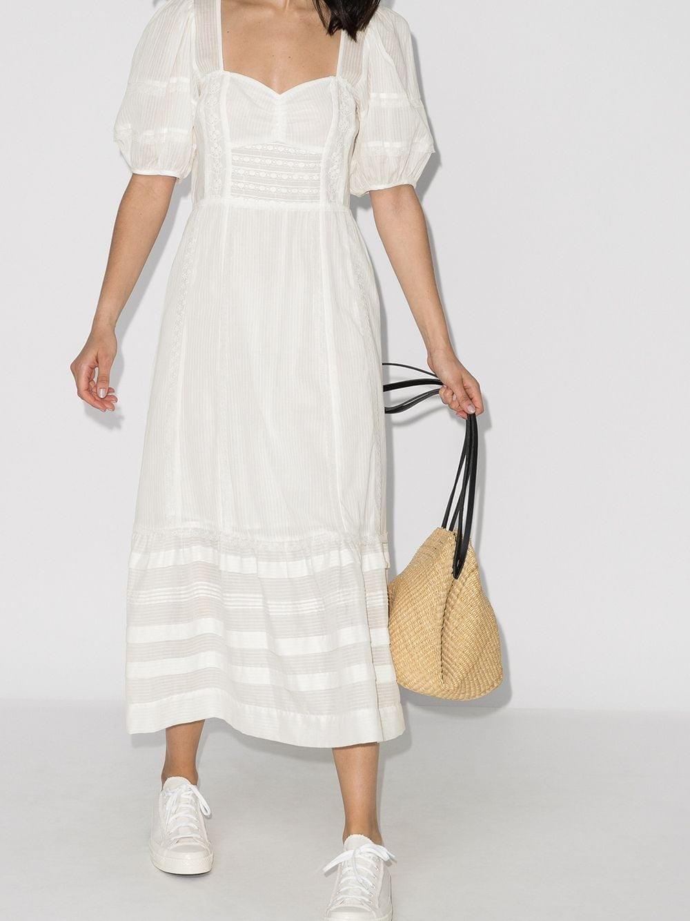 REFORMATION Norwich Midi Dress