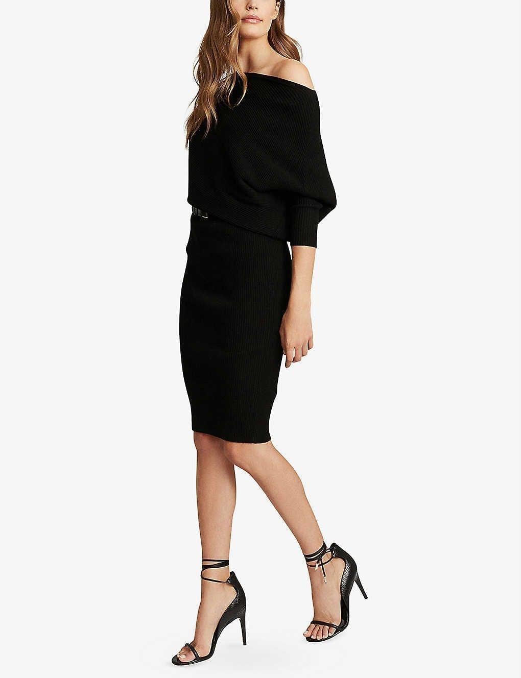 REISS Lara Stretch-knit Dress