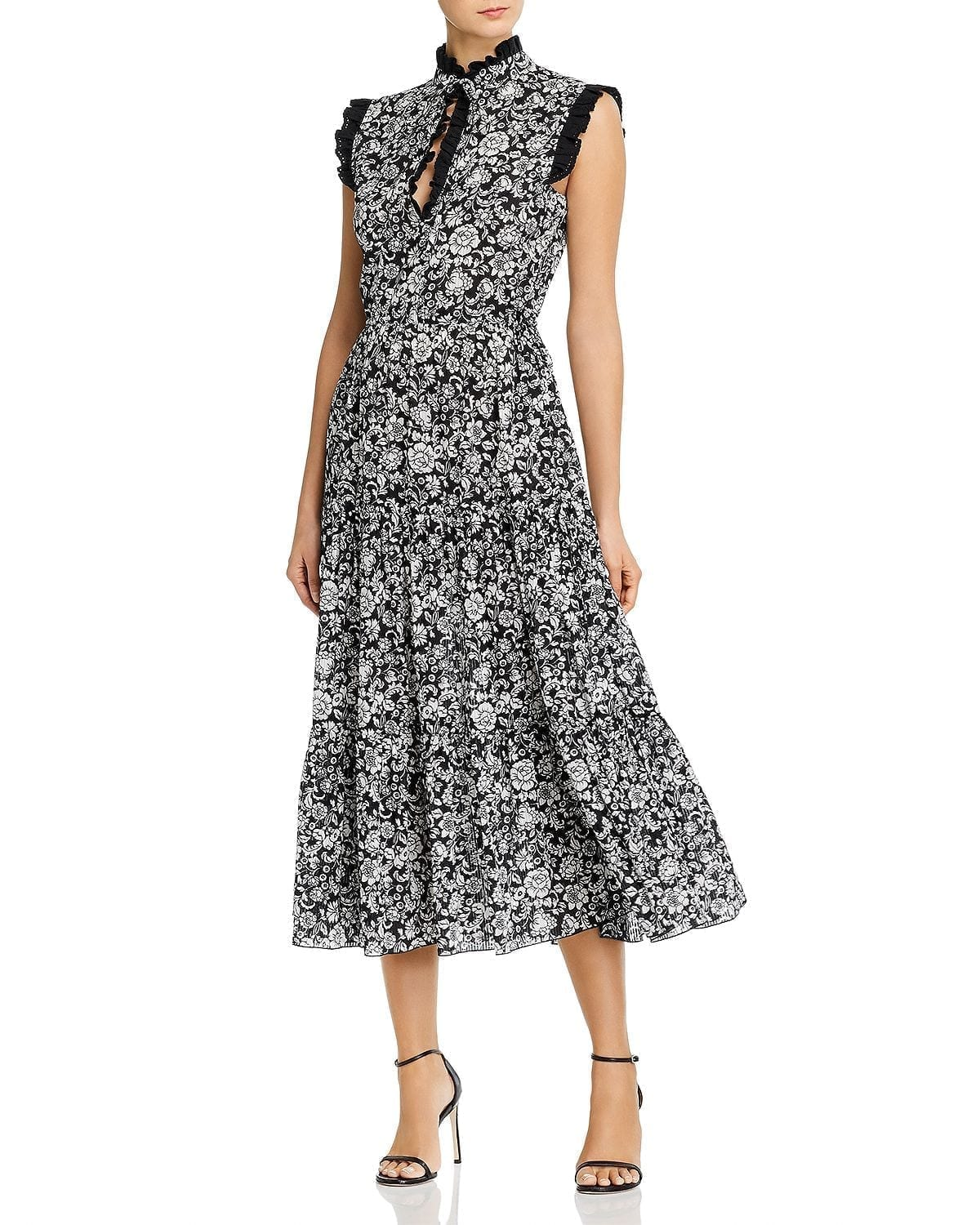 SEE BY CHLOÉ Cotton Voile Midi Dress