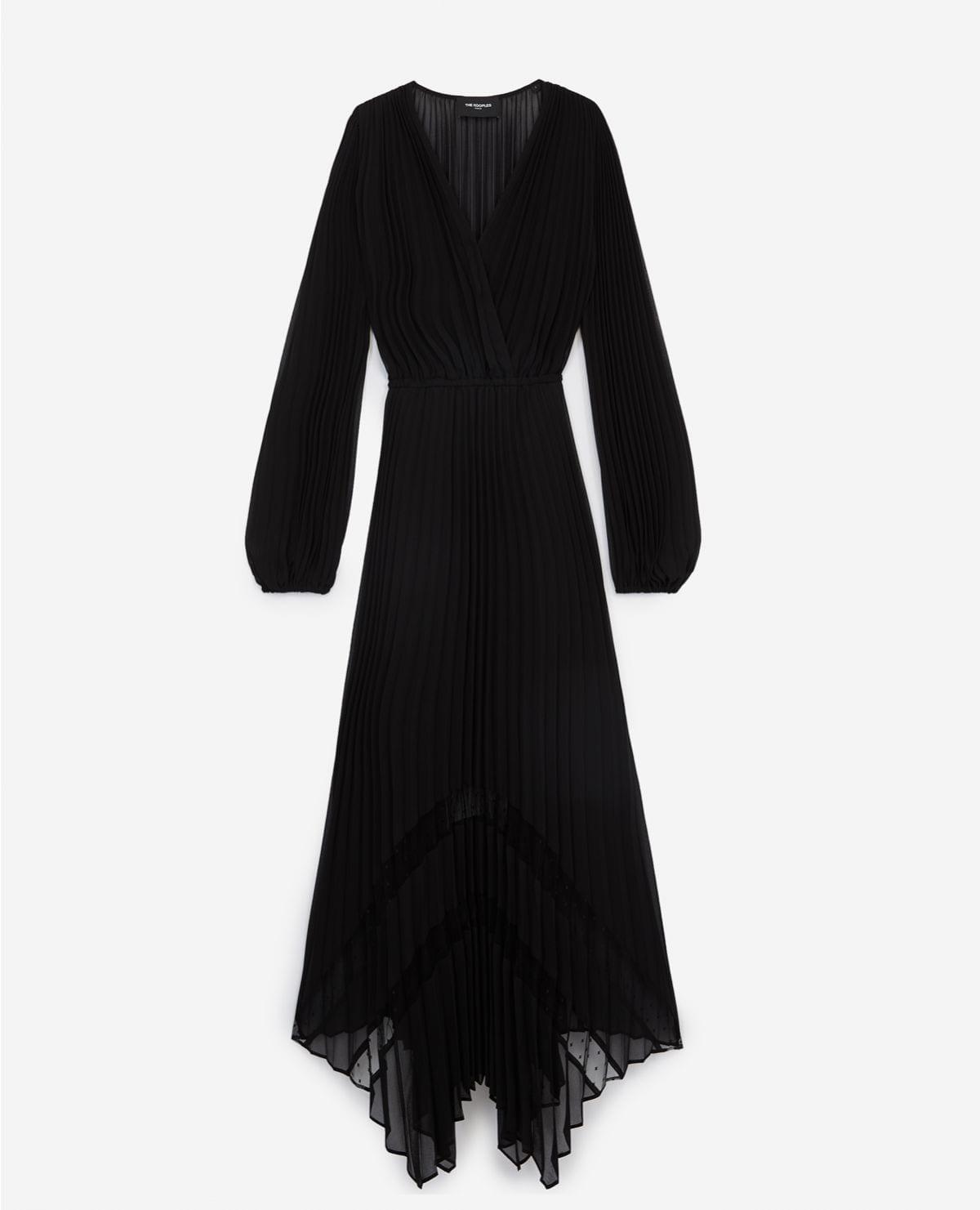 THE KOOPLES Black Long Flowing Dress