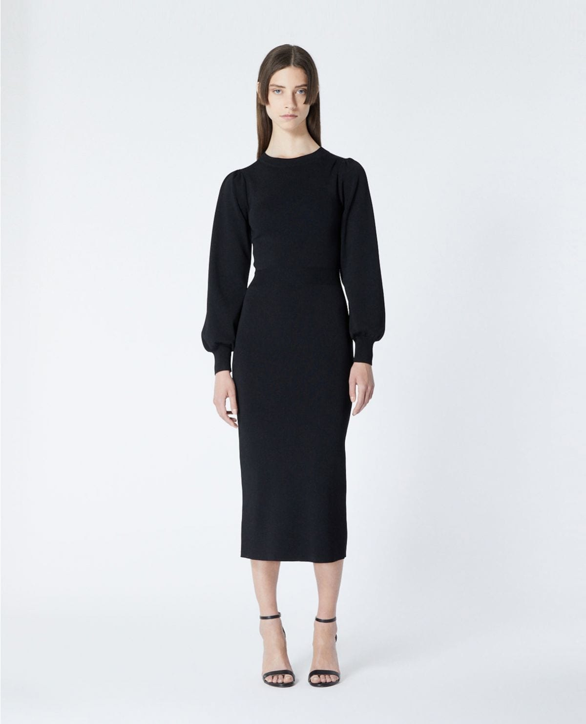 THE KOOPLES Elastic Waist Long Knit Dress