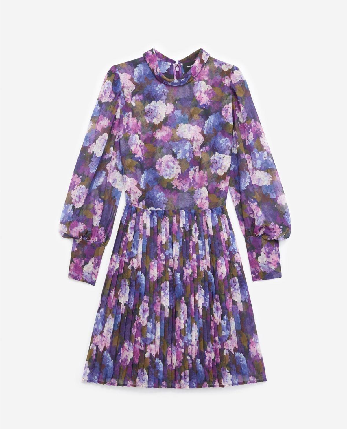 THE KOOPLES Flowing Pleated Dress