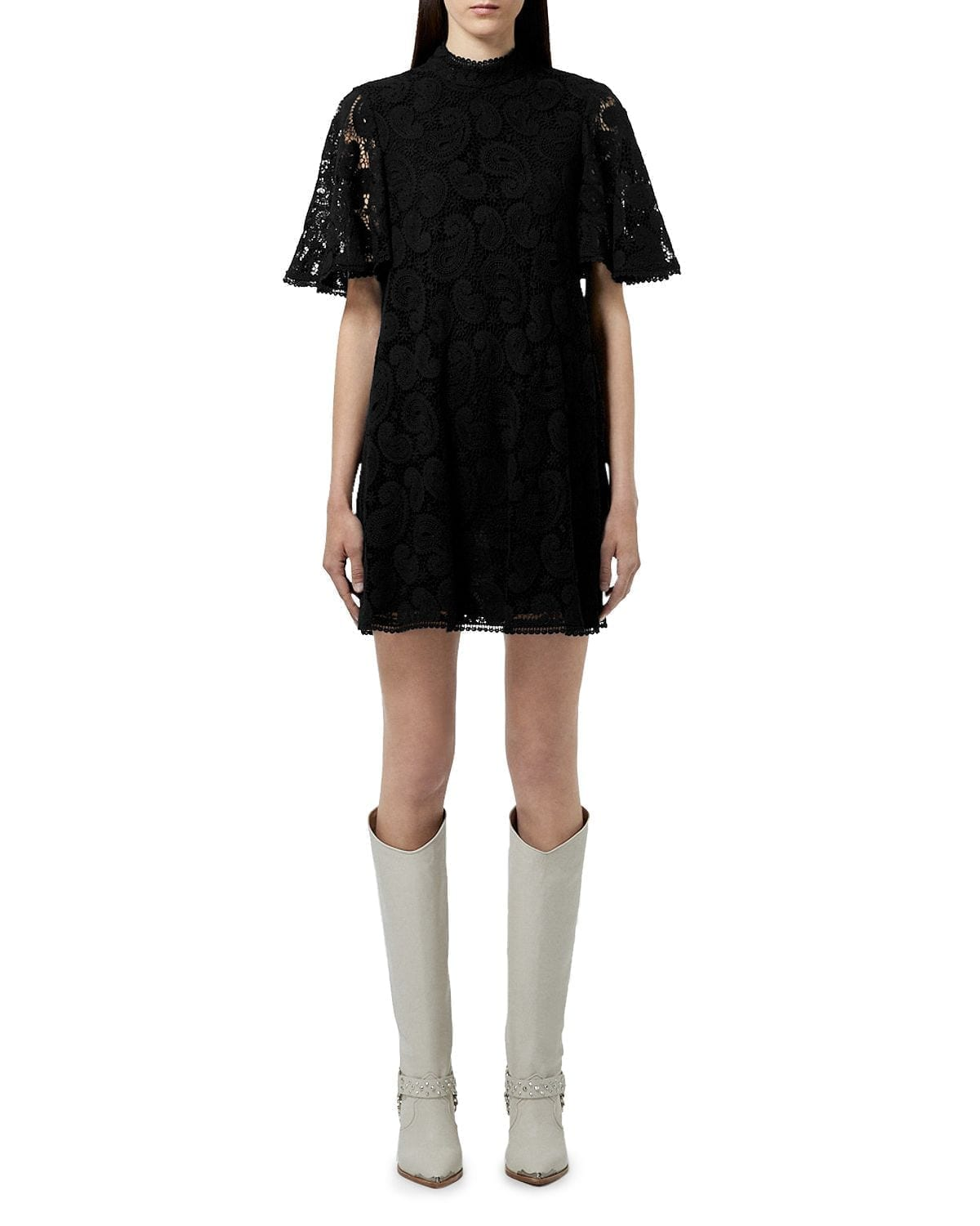 THE KOOPLES Mini Lace Dress