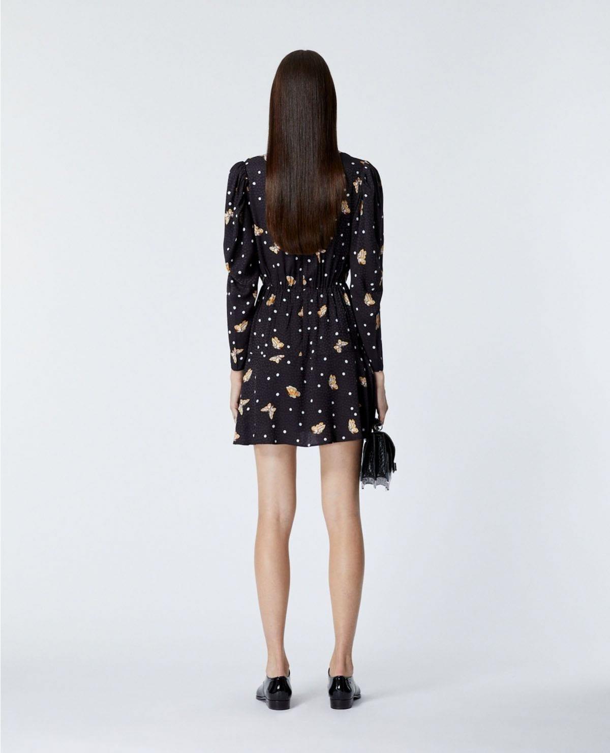 THE KOOPLES Short Black Dress