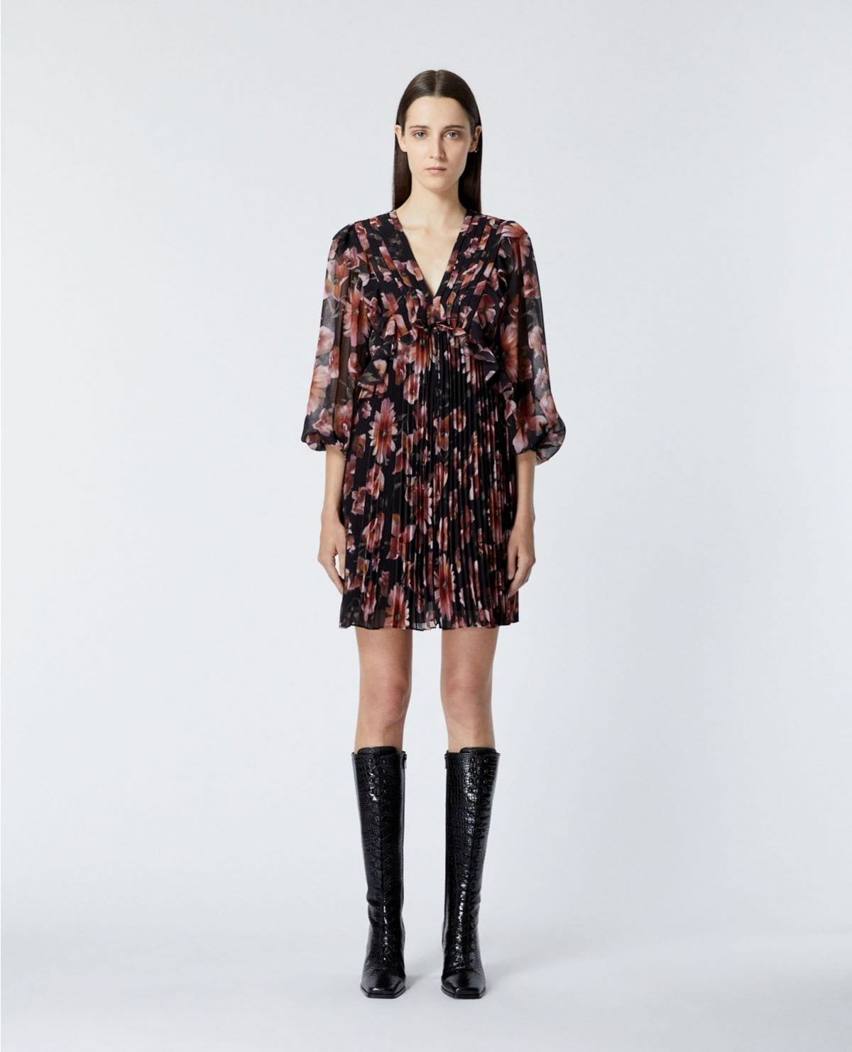 THE KOOPLES Short Printed Dress