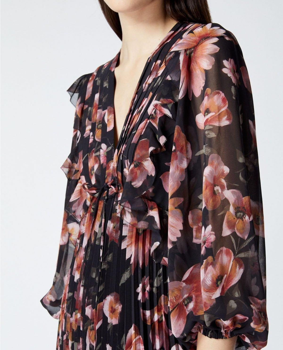 THE KOOPLES Short Printed Dress