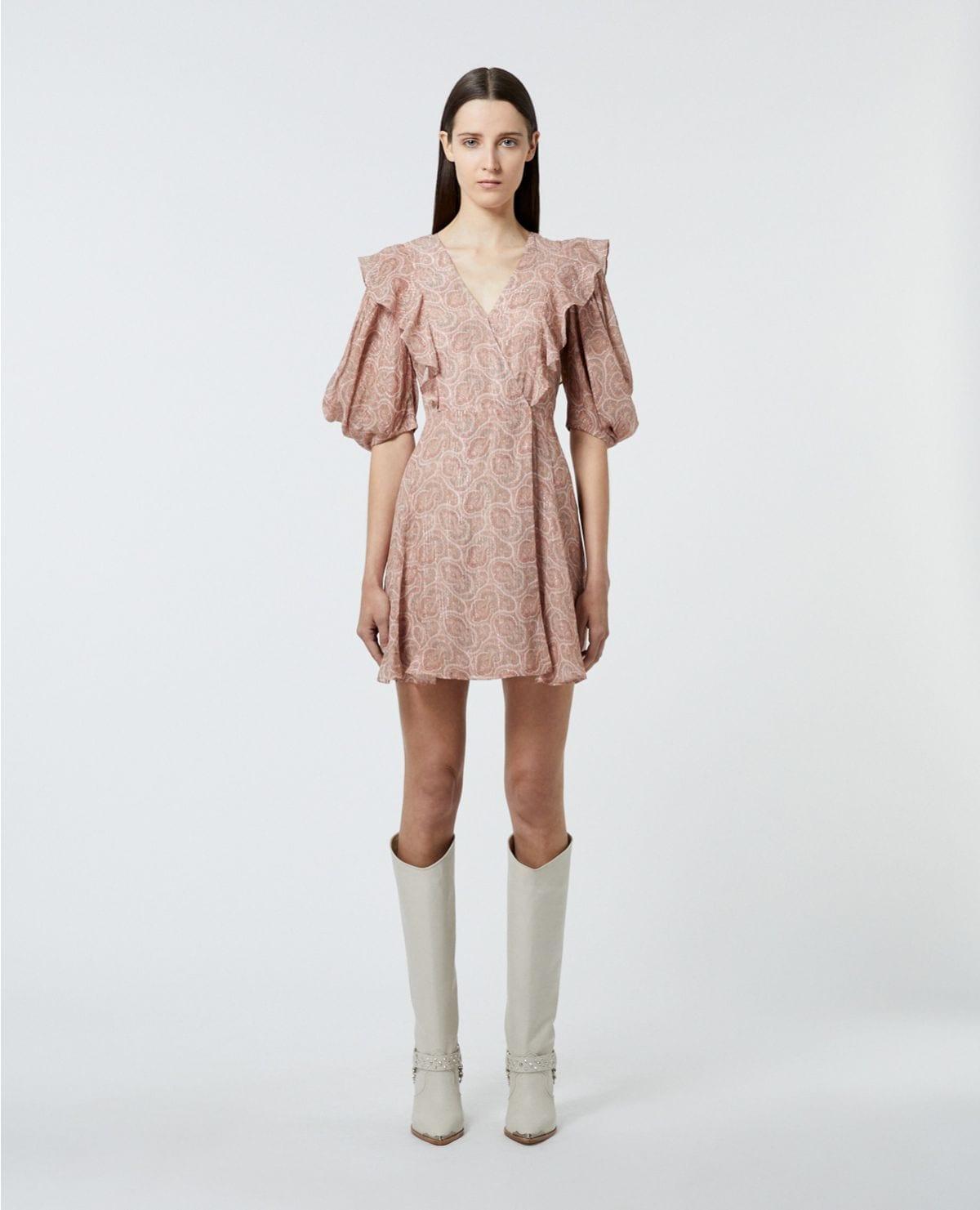 THE KOOPLES Short Wrap Dress