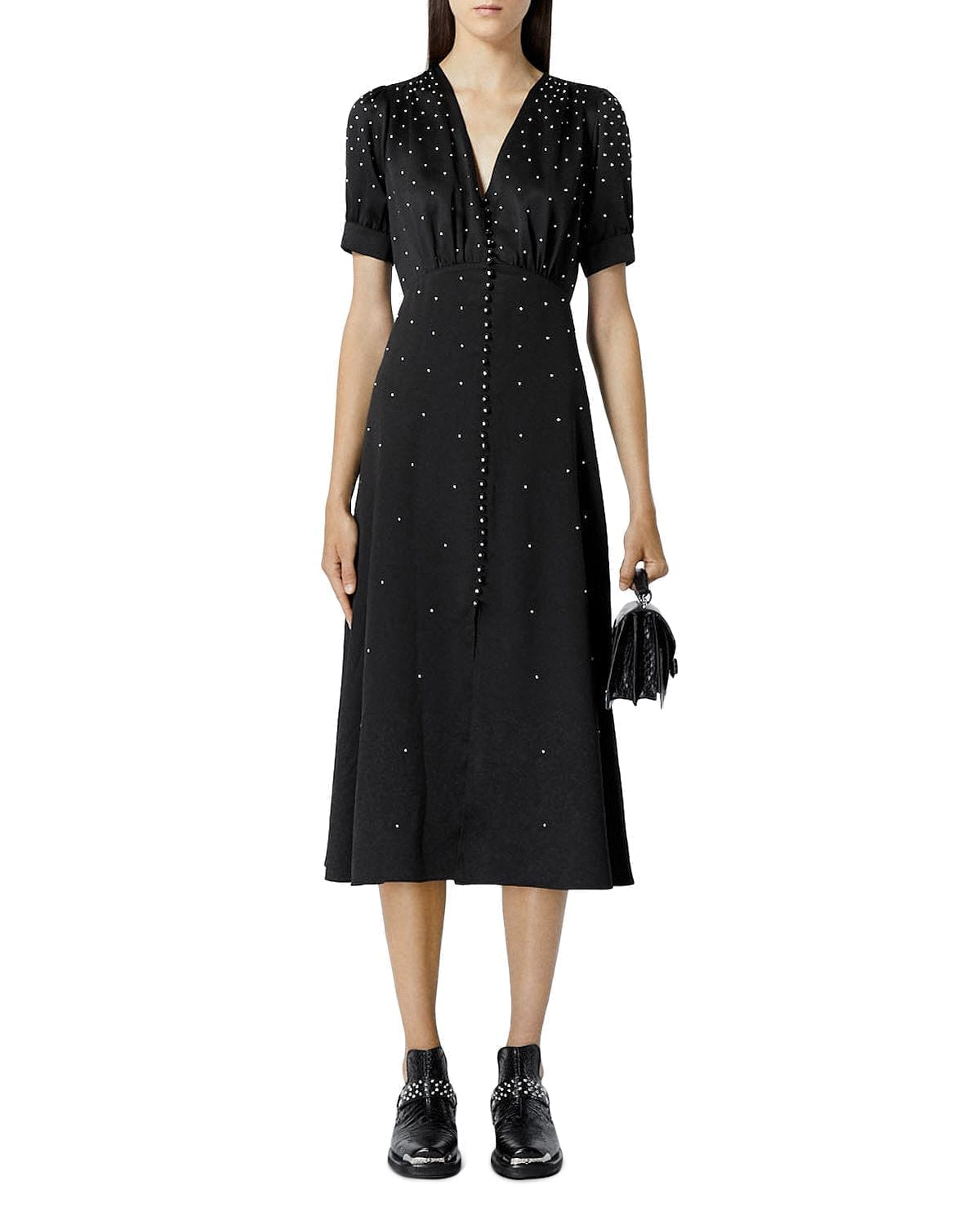 THE KOOPLES Studded Midi Dress