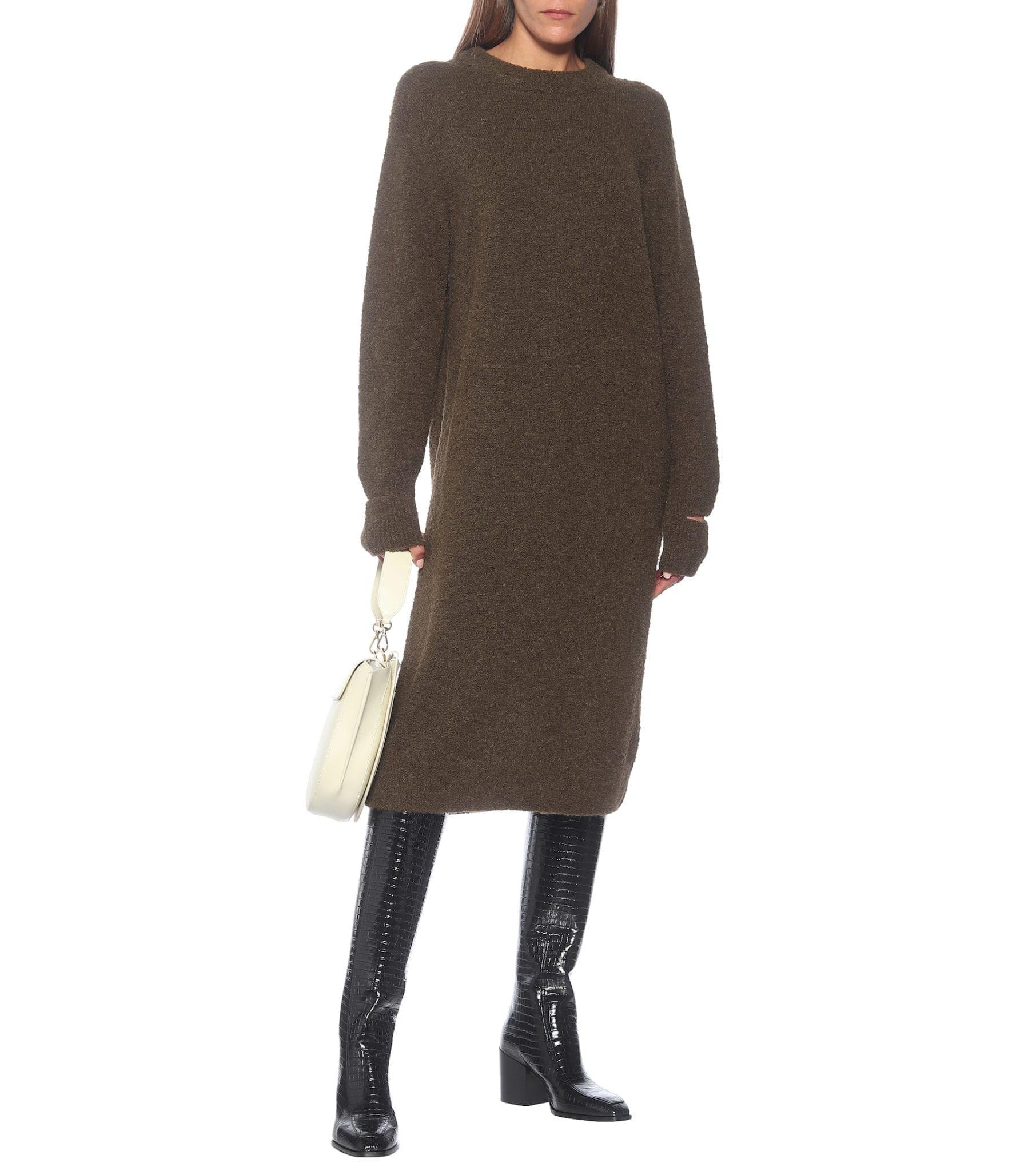 TIBI Alpaca-blend Sweater Dress