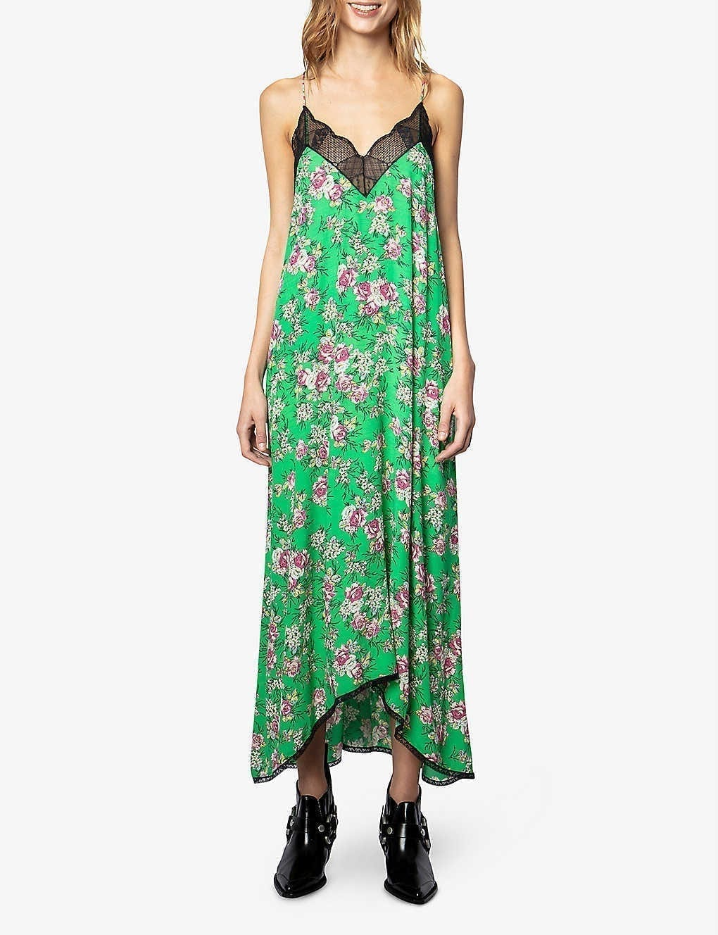ZADIG&VOLTAIRE Ritsy Floral-print Woven Maxi Dress