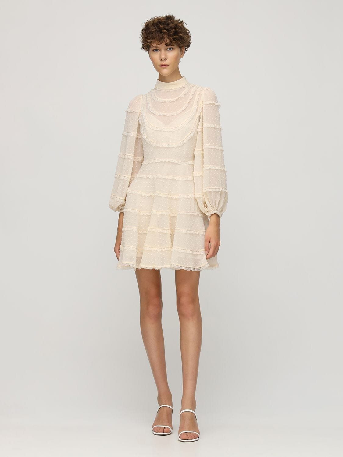 ZIMMERMANN Ladybeetle Spliced Mini Dress