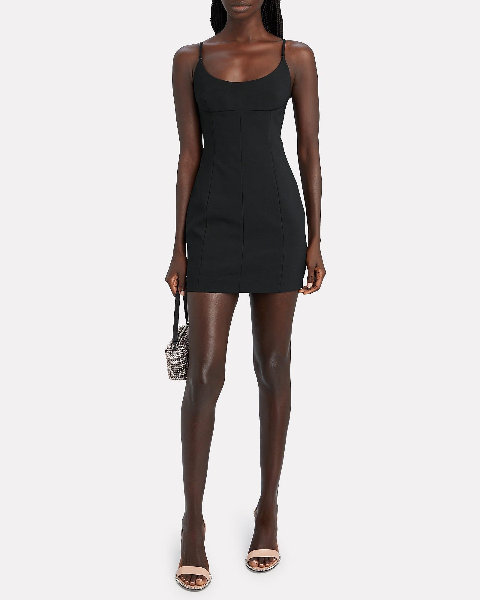 ALEXANDER WANG Crepe Mini Dress