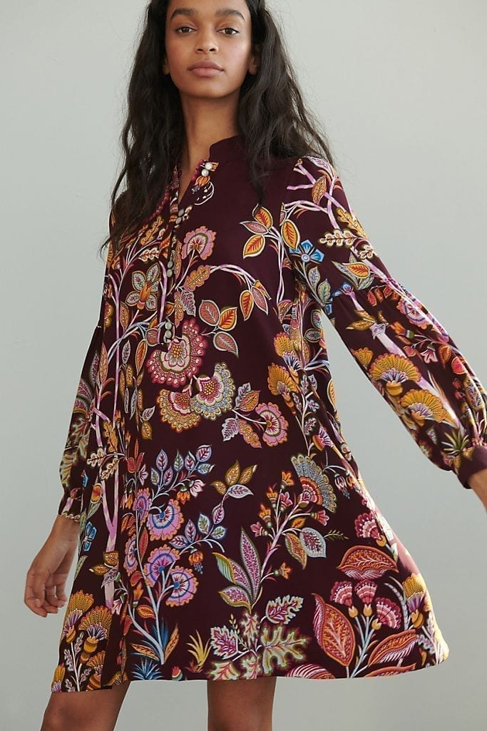 ANTHROPOLOGIE Lori Tunic Dress