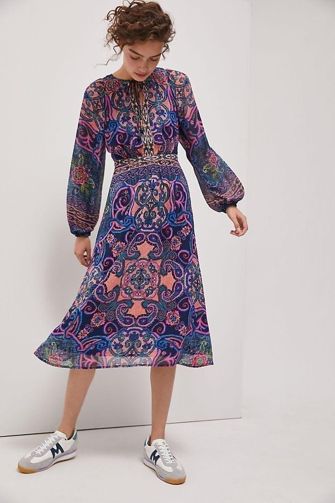 ANTHROPOLOGIE Sydney Maxi Dress