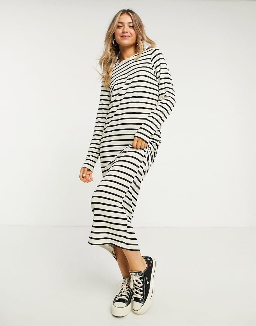 ASOS DESIGN Long Sleeve T-shirt Dress