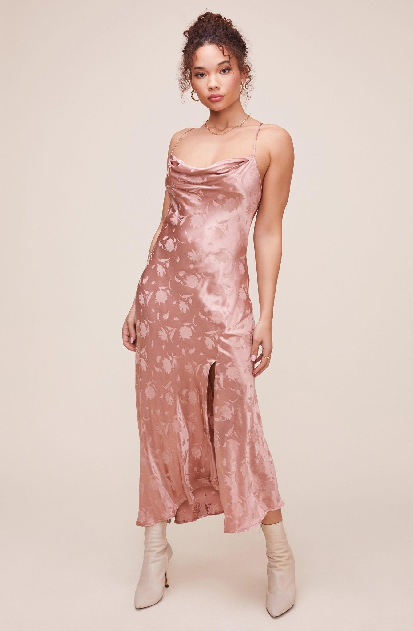 ASTRTHELABEL Gaia Floral Jacquard Midi Dress