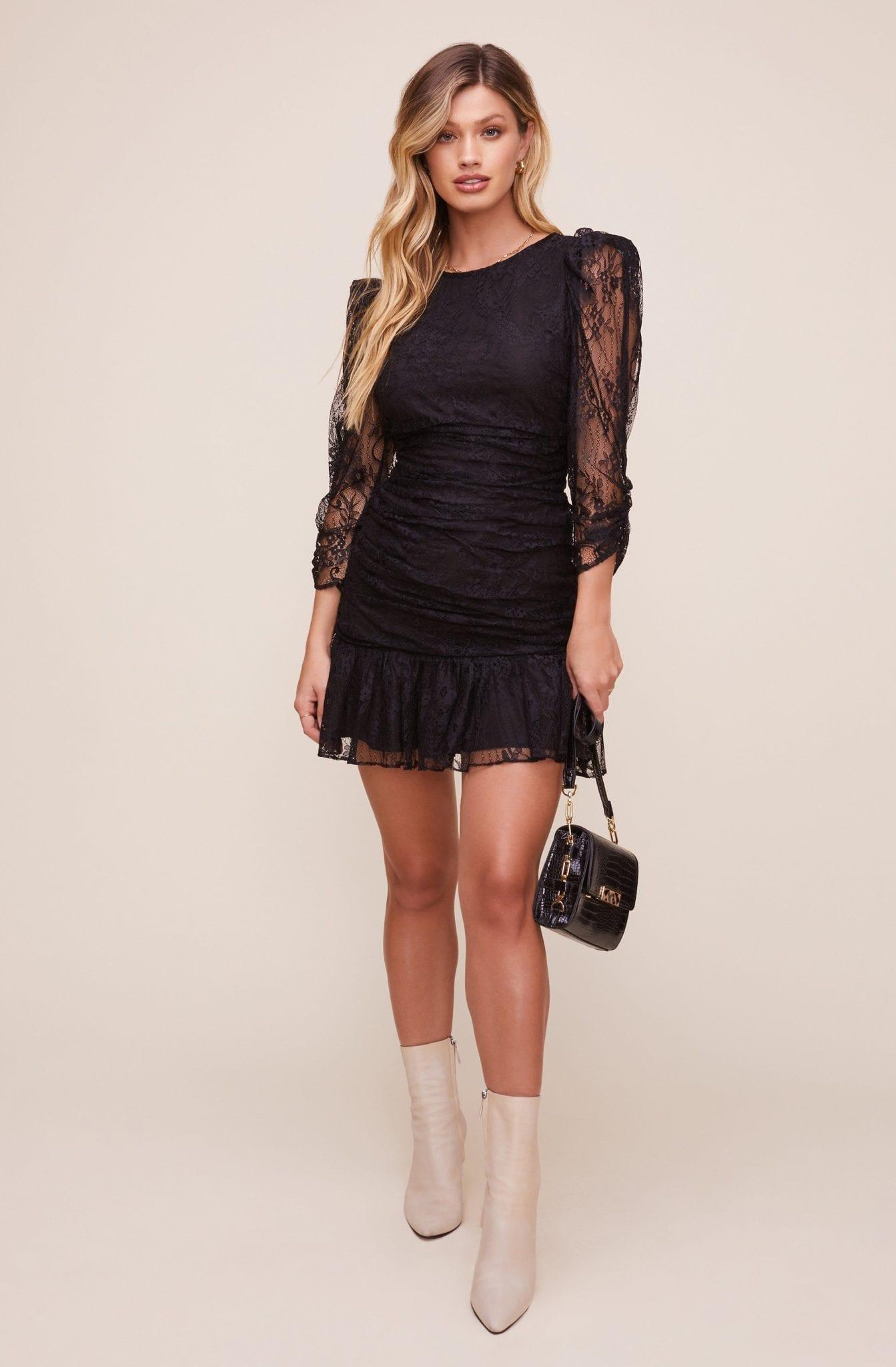 ASTRTHELABEL Rosalind Lace Mini Dress