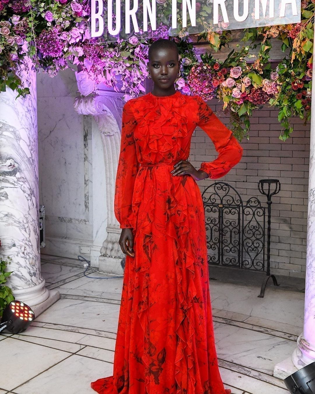 Get The Look: Adut Akech's Dress Style
