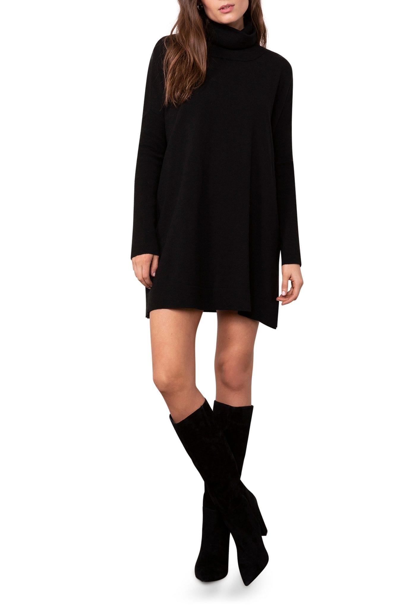 BB DAKOTA Hug Me Tight Turtleneck Long Sleeve Sweater Dress