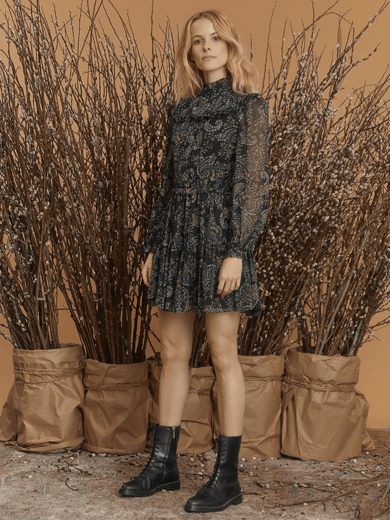 20 Cute Mini Dresses You Can Enjoy In Cooler Weather