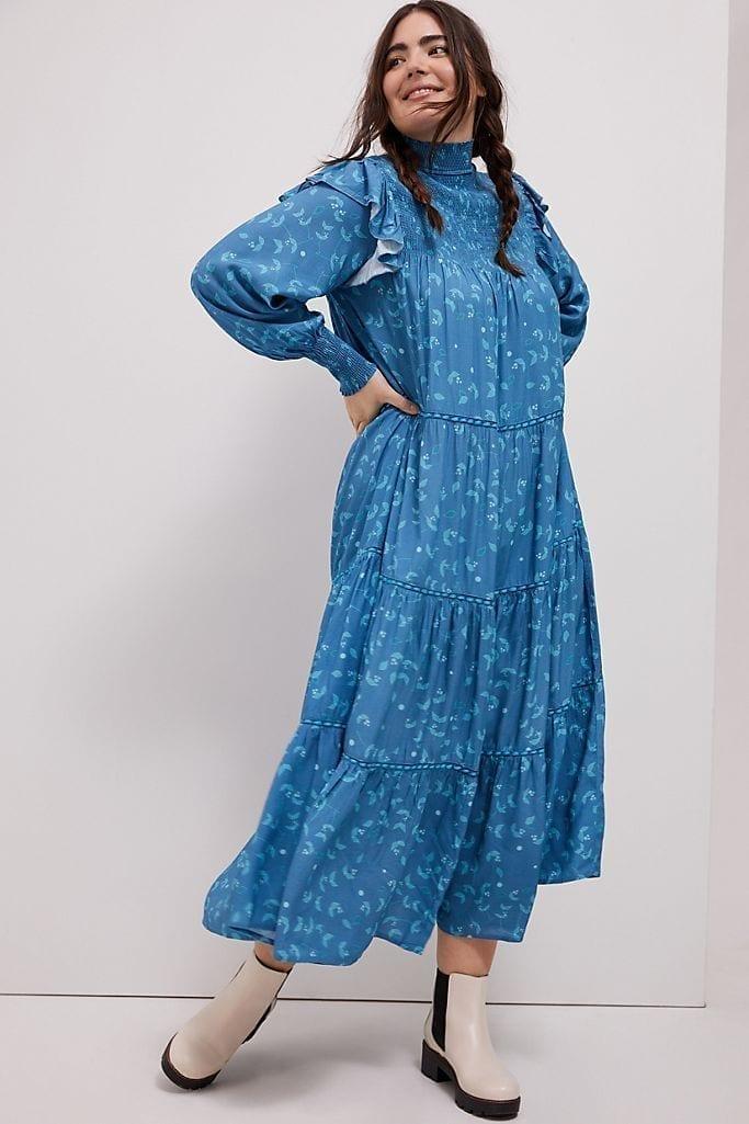 BL-NK Laura Tiered Maxi Dress