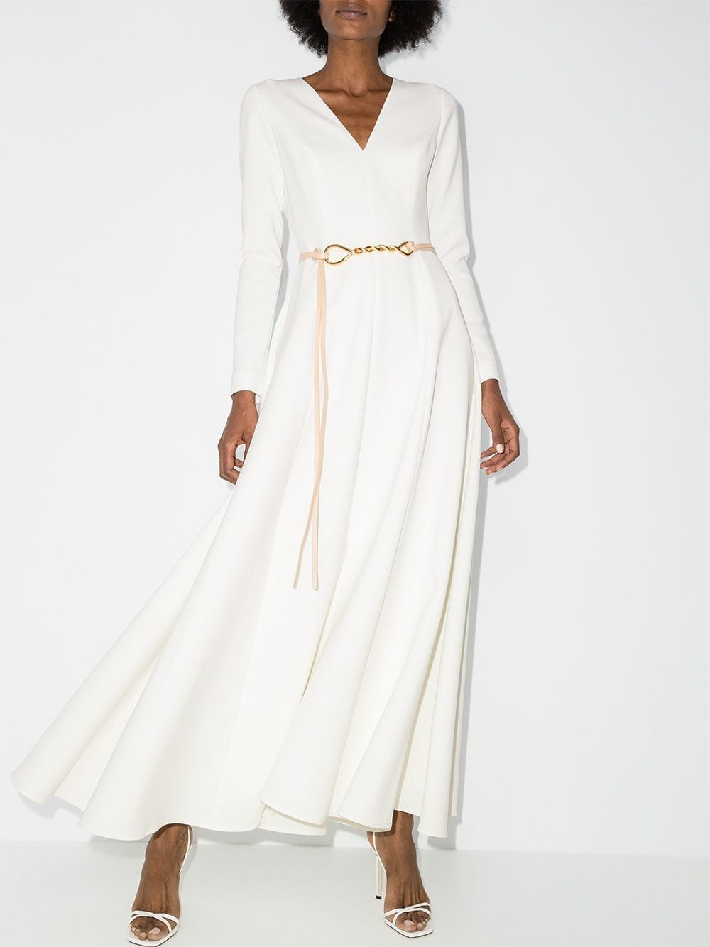 CAROLINA HERRERA A-line Maxi Dress