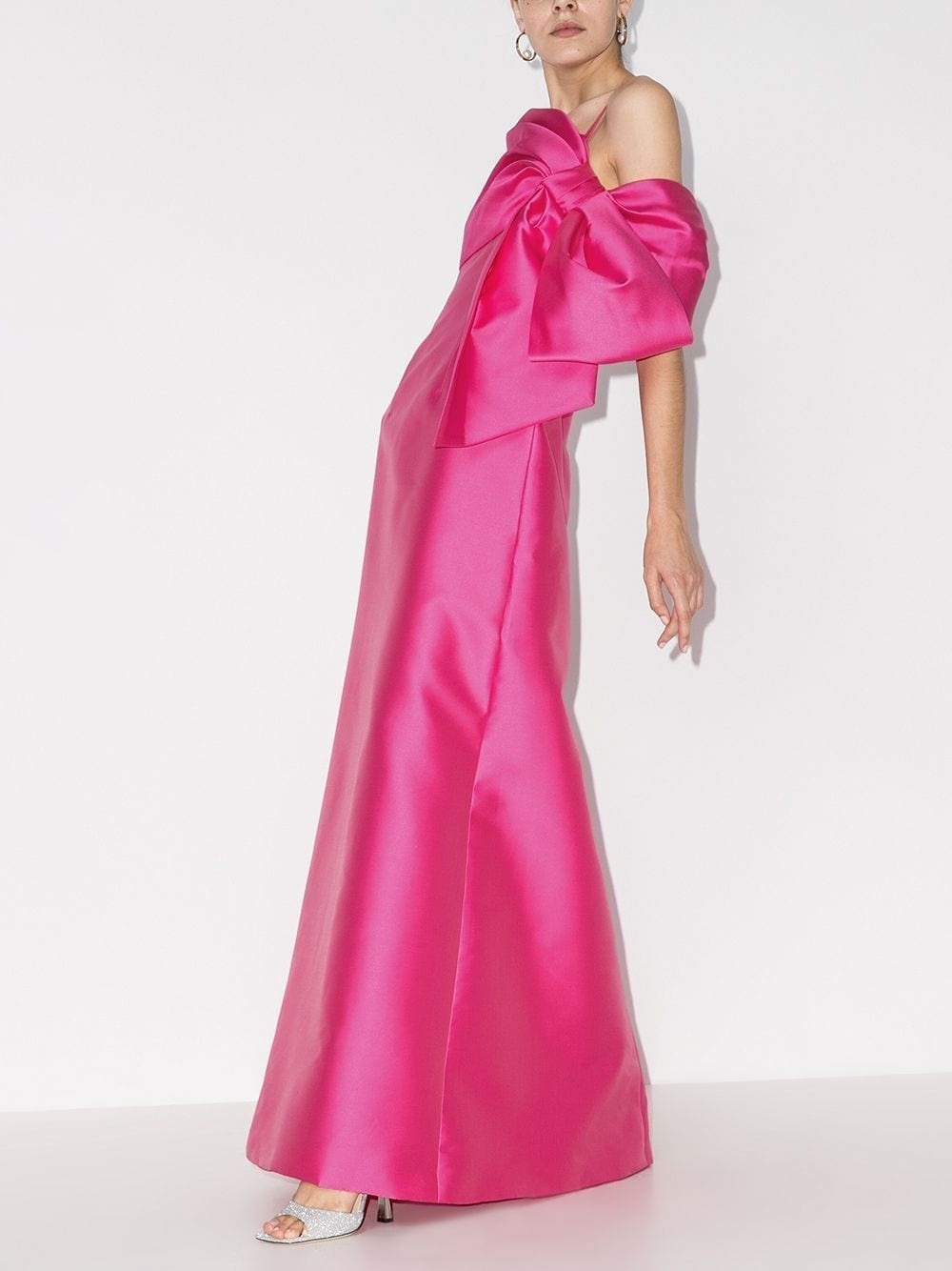 CAROLINA HERRERA Off-the-shoulder Bow Gown